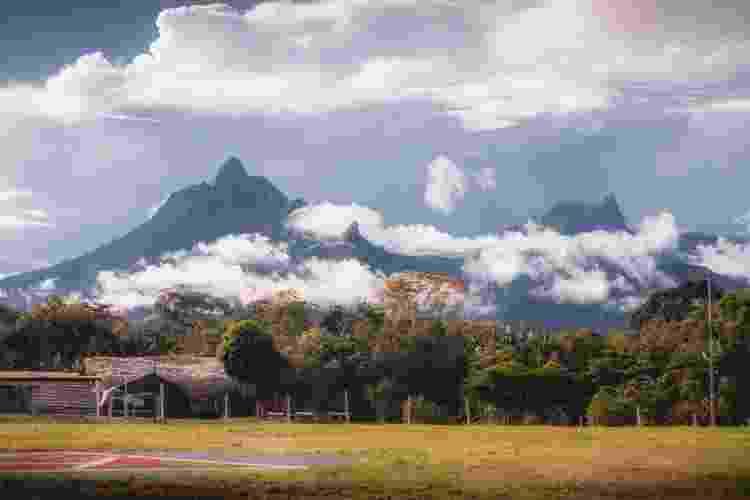 Vista da trilha para o Pico da Neblina  - Marcos Terra/Divulgação - Marcos Terra/Divulgação