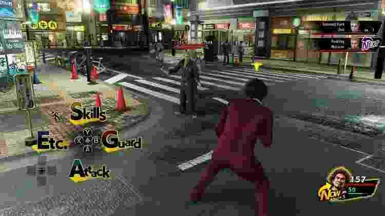Yakuza RPG - Reprodução/START - Reprodução/START