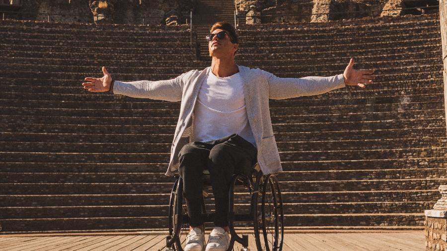 Fernando Fernandes é atleta paralímpico e apresentador dos canais Globo - Divulgação