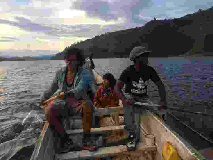Lago Bunyonyi, em Uganda - Arquivo pessoal - Arquivo pessoal