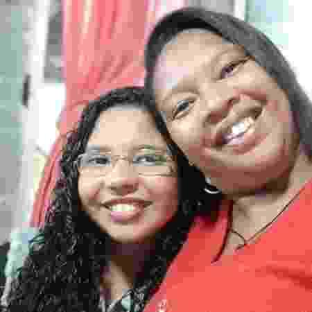 Fabiana Cristina Lopes e a filha Natally - Arquivo pessoal - Arquivo pessoal