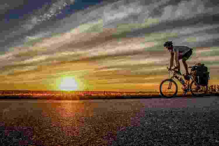 Pôr do sol no interior da Argentina - Arquivo pessoal - Arquivo pessoal