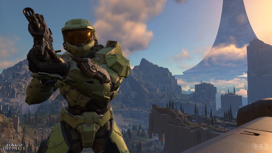 Halo Infinite será lançado junto com o novo Xbox Series X - Divulgação/Microsoft
