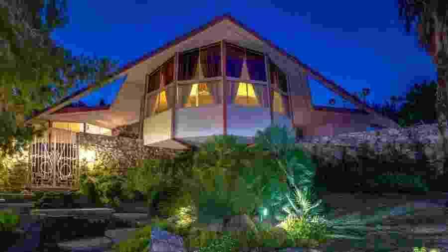 A casa onde Elvis e Priscilla Presley passaram sua lua de mel, em 1967 - Reprodução/Facebook