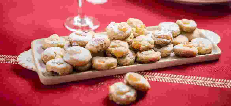 Biscoitinhos é receita fácil de Lu e Angela Bonometti para lembrar o favorito do Natal: o panetone - Keiny Andrade/UOL