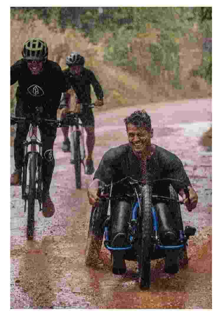 Trajeto com a handbike - Divulgação - Divulgação