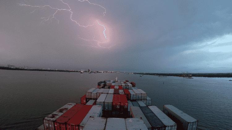 Viagem em navio cargueiro - Arquivo pessoal - Arquivo pessoal