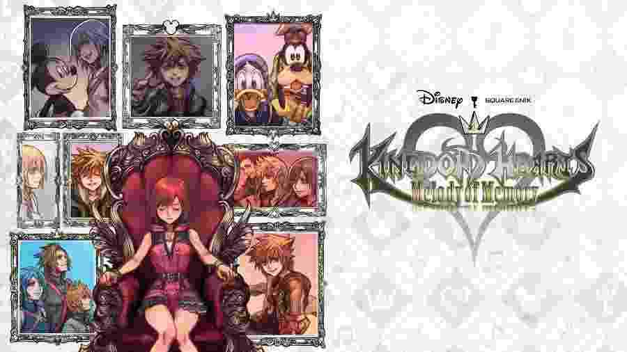 Kingdom Hearts: Melody of Memory - Divulgação/Square Enix