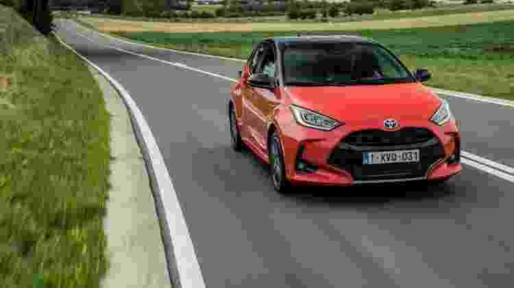 Toyota Yaris híbrido - Divulgação - Divulgação