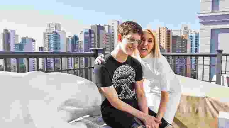 Jorge Dib Abage Neto, 17, tem a síndrome do X frágil - Valterci Santos - Valterci Santos