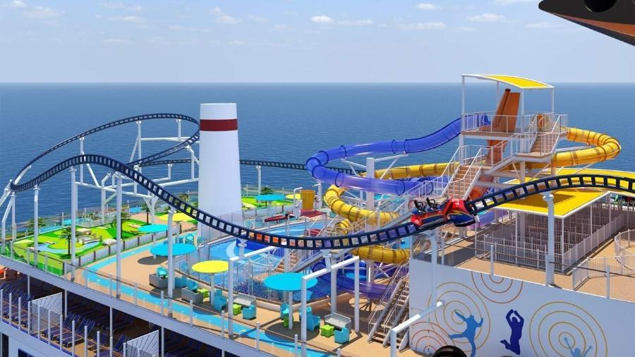 Bolt Ultimate Sea Coaster: velocidade do carrinho é controlável - Divulgação