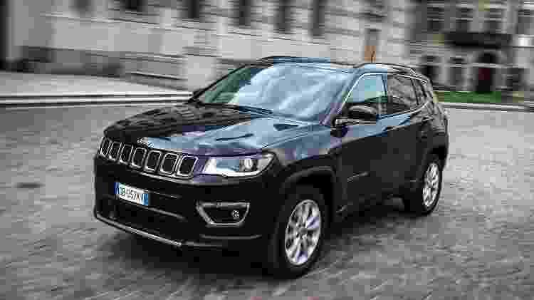 Jeep Compass 4xe 2021 - Divulgação - Divulgação
