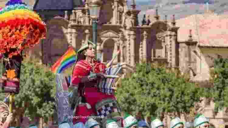 Inti Raymi (Festa do Sol), em Cusco, no Peru - Diego Tisoc - Diego Tisoc