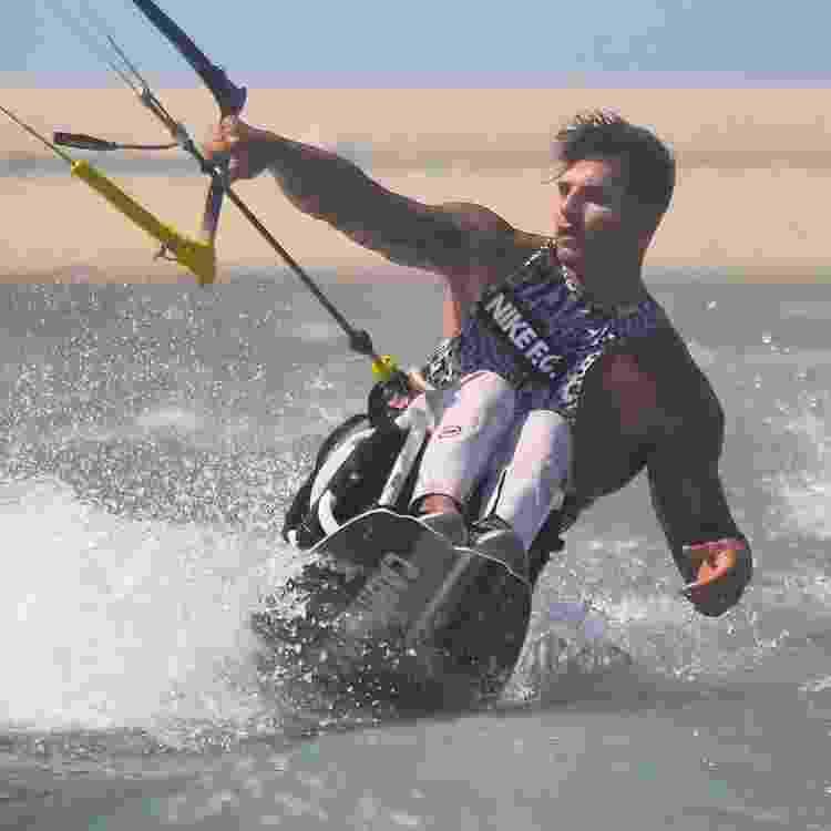Kitesurf adaptado no Nordeste - Divulgação - Divulgação