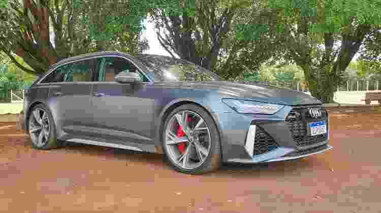 Audi RS6 - Rafaela Borges/UOL - Rafaela Borges/UOL