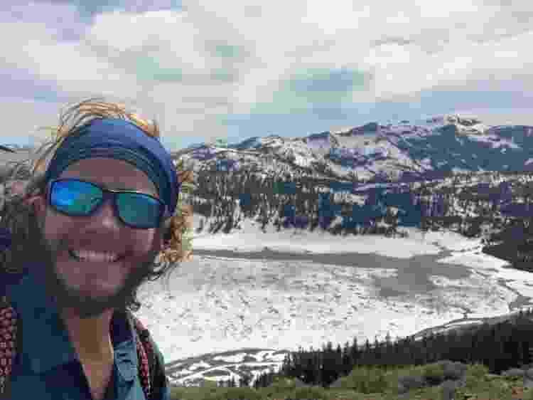 André durante a Pacific Crest Trail - Arquivo pessoal - Arquivo pessoal