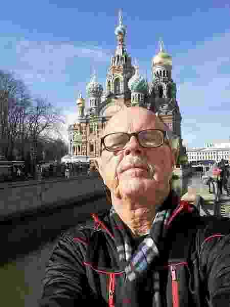 Edmo em São Petesburgo - Arquivo pessoal - Arquivo pessoal