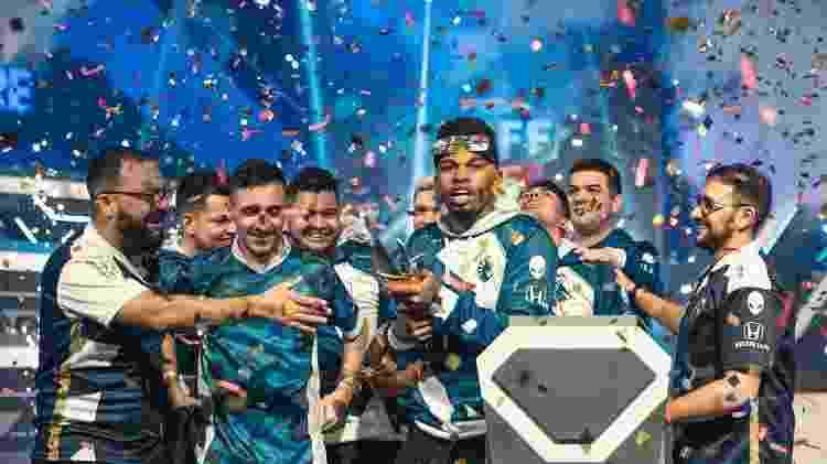 Team Liquid foi campeã da 1ª Etapa da Liga Brasileira de Free Fire neste domingo (15) - Divulgação/Garena