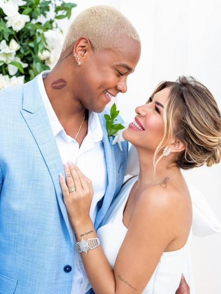 Casamento civil de Léo Santana e Lorena Improta em Salvador - Enzo Piero/Divulgação