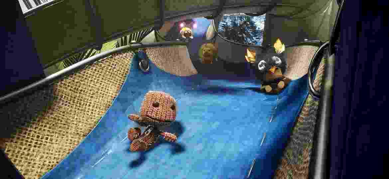 Sackboy é o bonequinho de pano protagonista da série LittleBigPlanet - Divulgação/Sony