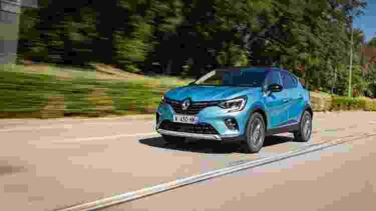 Renault Captur Hybrid Plug-In - Divulgação/Renault - Divulgação/Renault