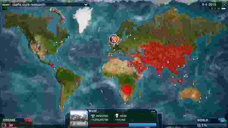 Plague Mapa - Divulgação - Divulgação