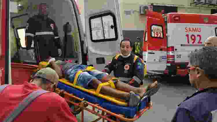 Um choque entre dois trens do metrô do Recife feriu ao menos 33 pessoas nas primeiras horas desta manhã. Os feridos foram levados pelo Samu para três unidades de pronto atendimento da capital pernambucana e não relatos de pessoas em risco de morte - BRUNO LAFAIETE /CÓDIGO19/ESTADÃO CONTEÚDO - BRUNO LAFAIETE /CÓDIGO19/ESTADÃO CONTEÚDO