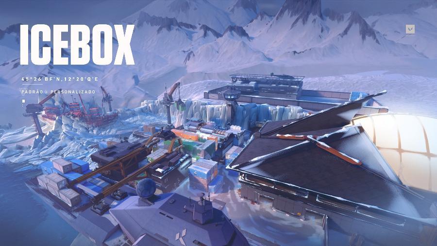 Valorant Icebox - Divulgação/Riot Games