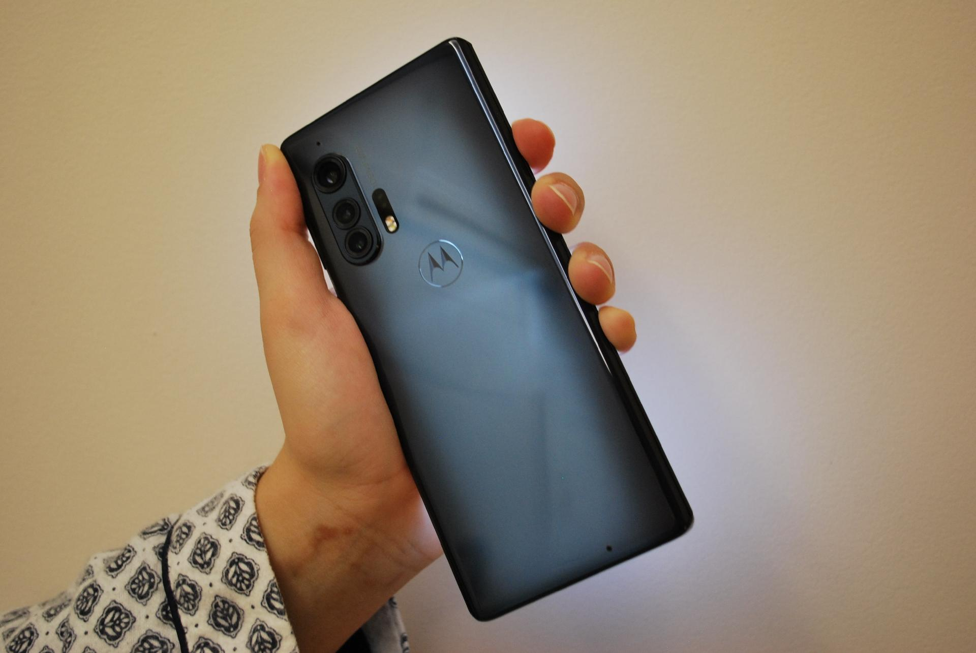 Motorola Edge+, primeiro smartphone top de linha da Motorola com tecnologia 5G lançado no Brasil - Rodrigo Trindade/UOL