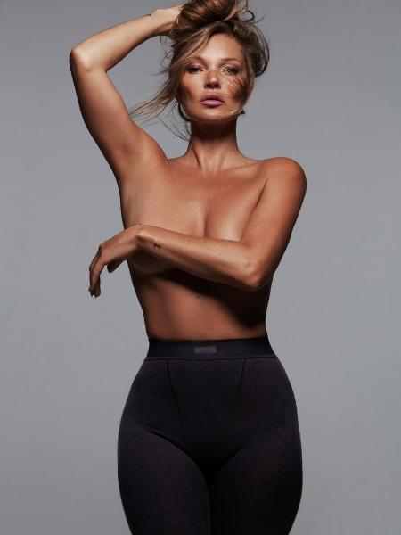 Kate Moss foi escolhida como a representante da marca - Divulgação / DonnaTrope