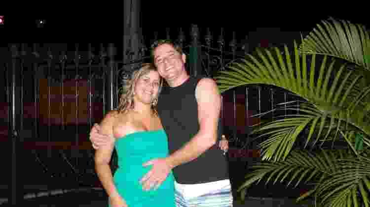Samille Simões Landim engravidou do marido 10 anos após ele morrer de câncer - Arquivo pessoal - Arquivo pessoal