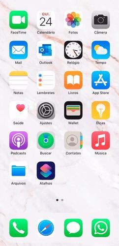 Abra o aplicativo Atalhos