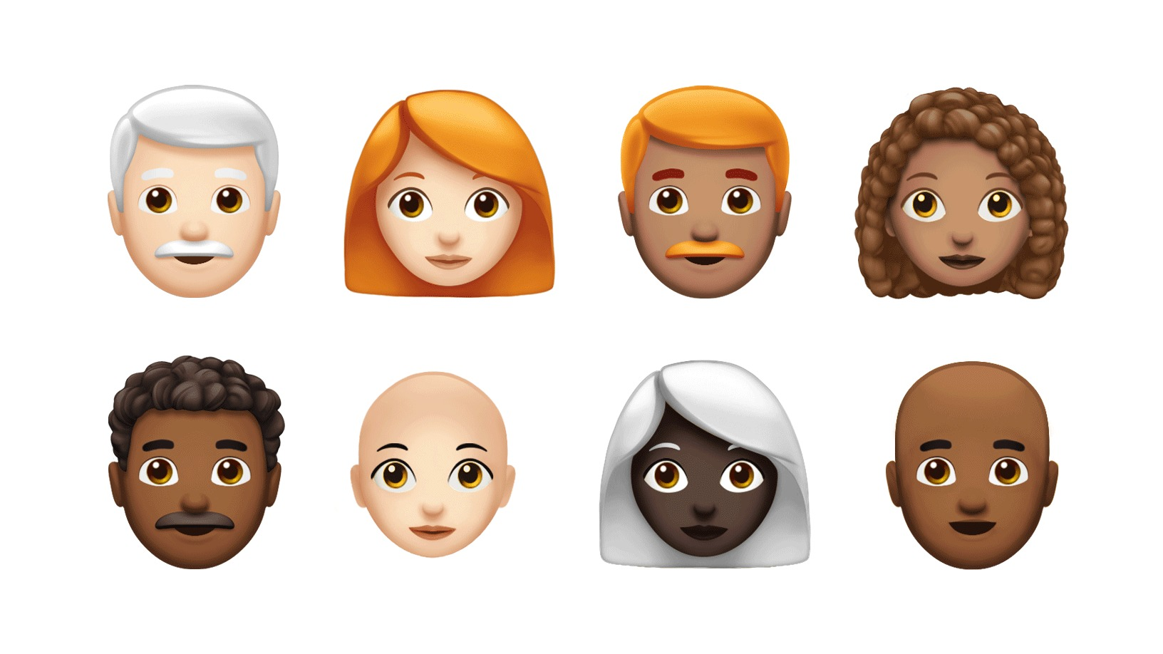 17.jul.2018 - Novos emojis da Apple