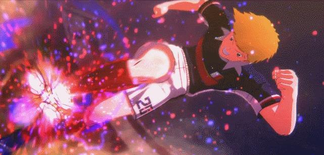 Captain Tsubasa chute canhão