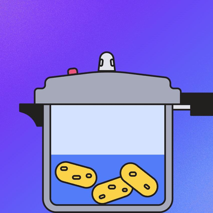 A tecnologia por trás das panelas de pressão