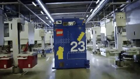 Lego fabricação - caminhão-robô