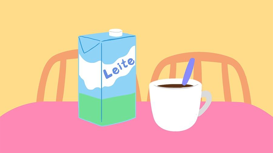 Pergunte VivaBem café com leite