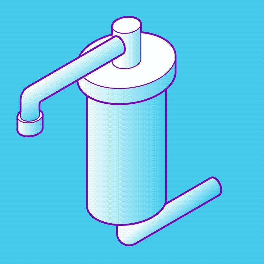 A Tecnologia por Trás dos filtros de água