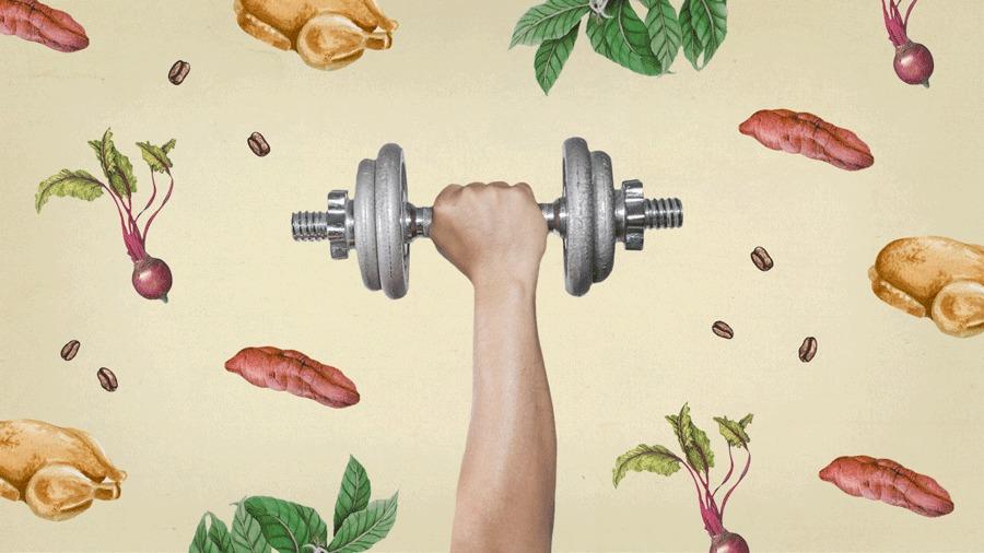 Poder dos Alimentos - treino