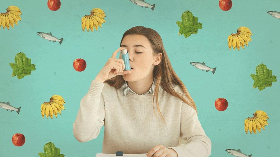 VivaBem Poder dos Alimentos Asma