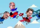 No último Ibope do 1º turno, Bolsonaro tem 41%; Haddad, 25%; Ciro, 13%