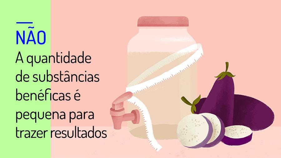 Check-up VivaBem água de beringela