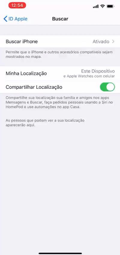 gif9 - localizar pessoa pelo iphone