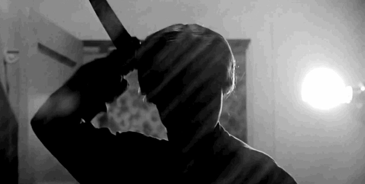 "Norman Bates, em ""Psicose"""
