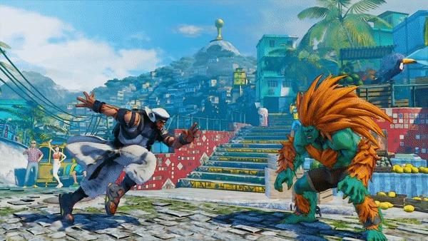 Rashid Street Fighter V