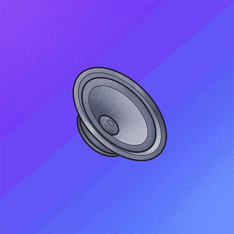 Tec por trás das caixas de som