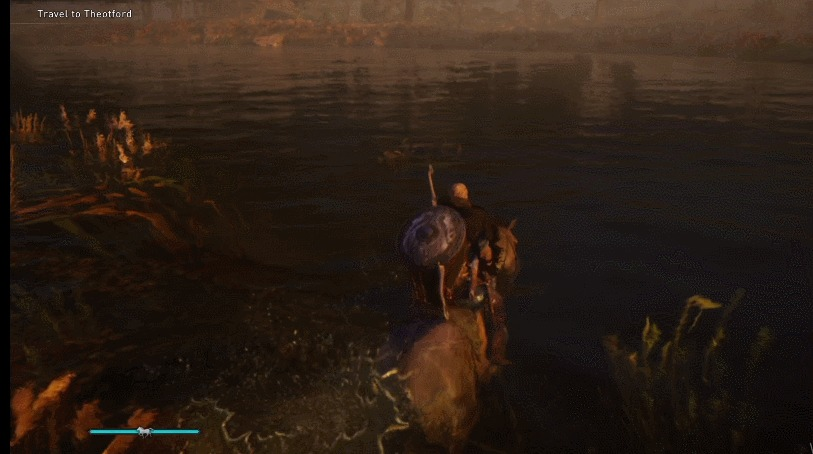 Valhalla Cavalo nadar