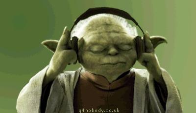 Fones de ouvido 1 - Yoda