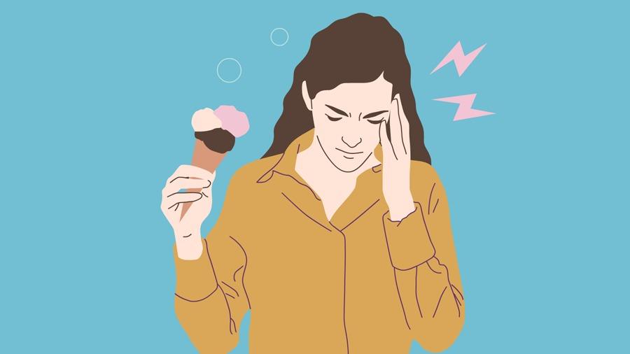 Pergunte ao VivaBem sorvete dor de cabeça