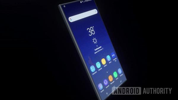 Ilustração mostra como o celular dobrável da Samsung pode ser